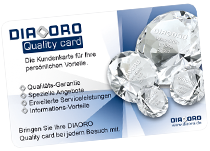 DIAORO Quality card