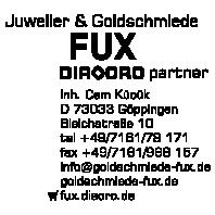 Logo von Juwelier & Goldschmiede Fux